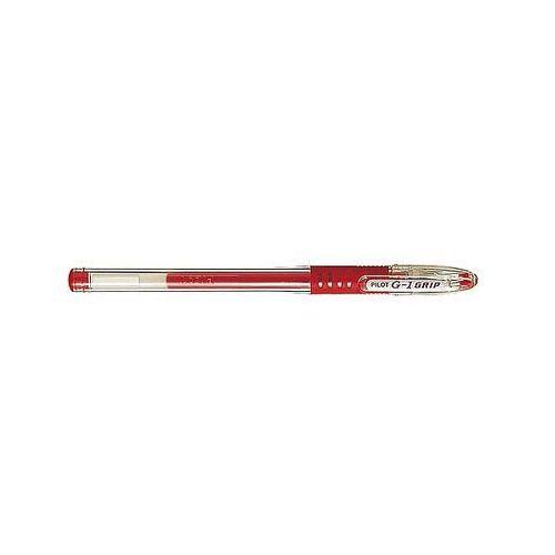 Długopis żelowy g1 grip czerwony marki Pilot