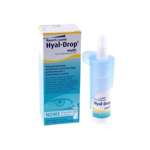 Bausch&lomb Hyal drop multi 10 ml (4049649000039). Najniższe ceny, najlepsze promocje w sklepach, opinie.