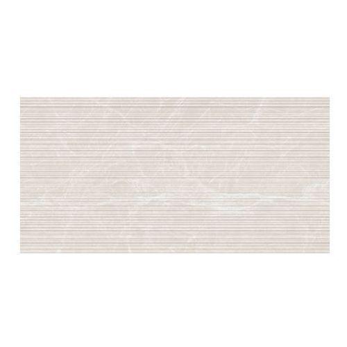 Dekor Lavre Ceramstic 60 x 30 cm wave jasnobeżowy 1,44 m2 (5907180137586)