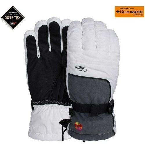Pow Rękawice - ws falon gtx glove +warm white (b4b (wh) rozmiar: m