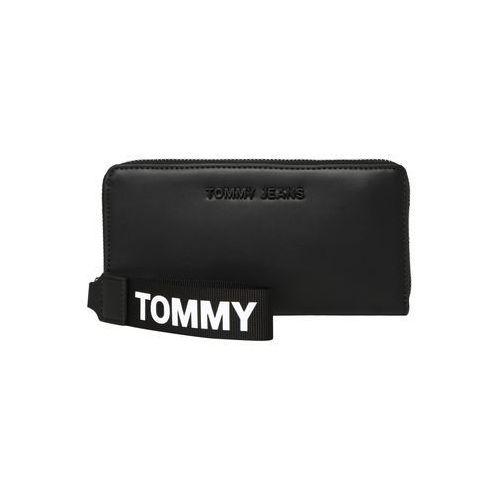 portmonetka czarny / biały marki Tommy jeans