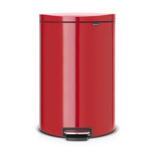 - kosz pedałowy 'flatback' – 40l - czerwony passion marki Brabantia