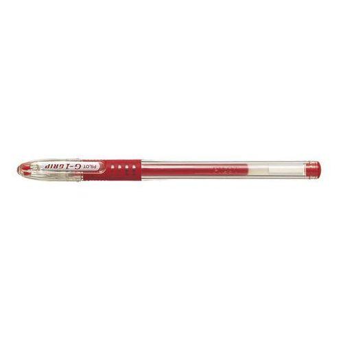 Pilot Długopis g1 gel grip czerwony [12 szt.] (4902505158803)