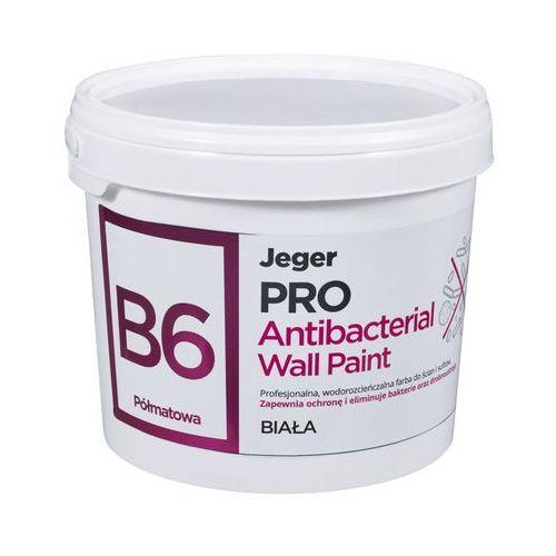 Farba wewnętrzna pro antibacterial wall paint 2.5 l biała marki Jeger