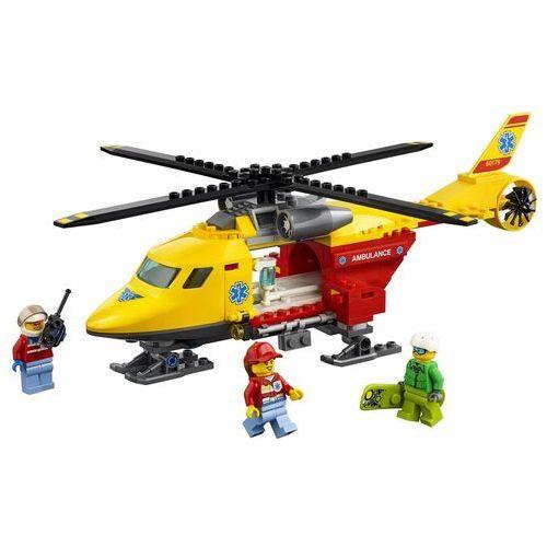 Lego CITY Helikopter medyczny ambulance helicopter 60179