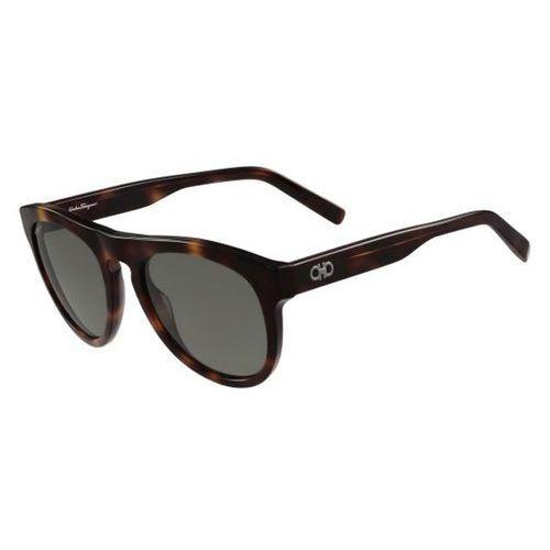 Okulary słoneczne sf 828sg 214 marki Salvatore ferragamo
