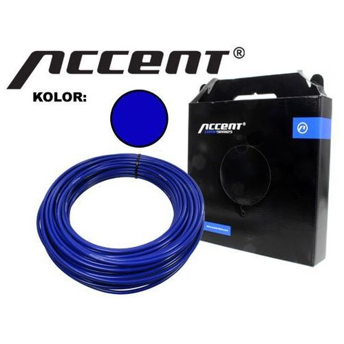 610-20-02_ACC(1) Pancerz hamulca Accent 5 mm x 1 metr, niebieski - produkt z kategorii- Pancerze i linki