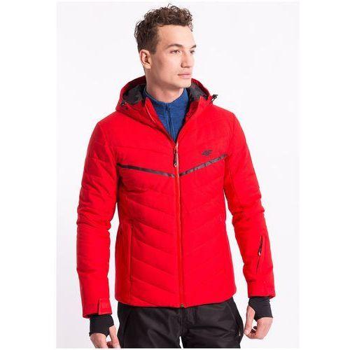 Kurtka narciarska męska KUMN152Z - czerwony, kolor czerwony