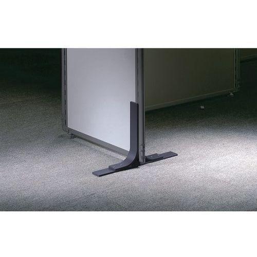 Noga metalowa, do ścianki działowej z izolacją dźwiękową, wysięg obustronny po 2 marki Clipper system srl