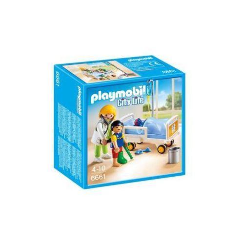 Playmobil Lekarka przy łóżku chorego dziecka 6661 - darmowa dostawa od 199 zł!!!