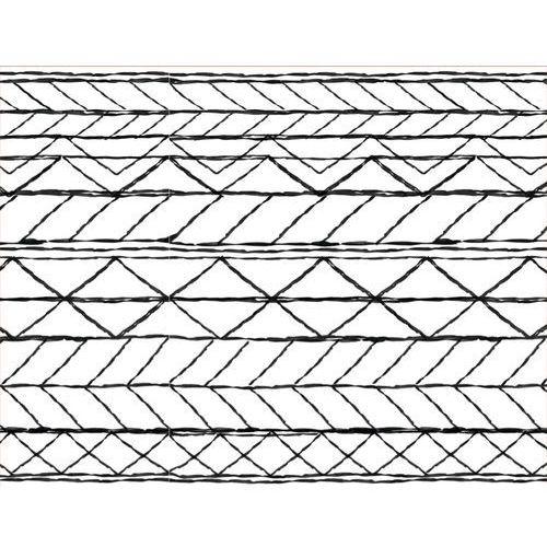 unc dywan,tkany, biały/czarny 170x240cm 103337 marki Urban nature culture
