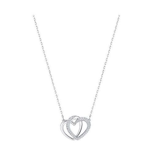 Swarovski Dear Necklace, Medium, White White Rhodium-plated, 5345475