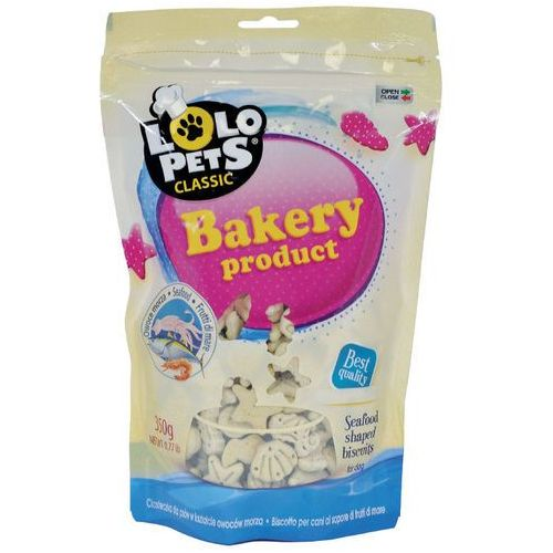 Lolo pets ciastka dla psa - owoce morza 350g (5904479808066)