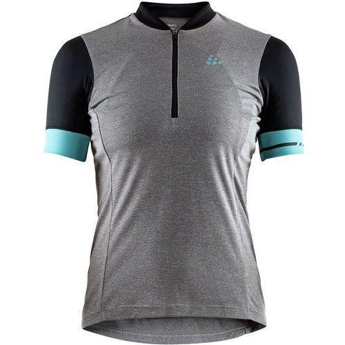 Craft Point Koszulka kolarska, krótki rękaw Kobiety szary S 2018 Koszulki kolarskie