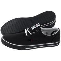 Tenisówki Tommy Hilfiger Tommy Jeans Textile Sneaker EM0EM00001 990/Black (TH5-c), w 5 rozmiarach