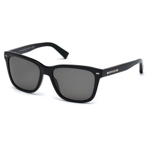 Okulary słoneczne ez0002 polarized 01d marki Ermenegildo zegna