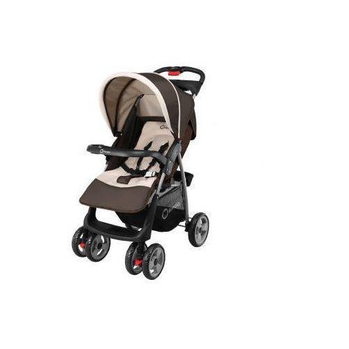 OKAZJA - Wózek spacerowy emma brązowy  marki Lionelo
