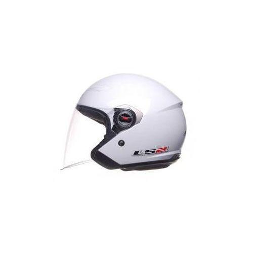 Kask otwarty of569.7 rock biały chopper marki Ls2