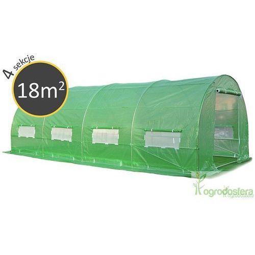 Tunel foliowy z metalowym stelażem 3x6m - transport gratis! wyprodukowany przez Ogrodosfera.pl