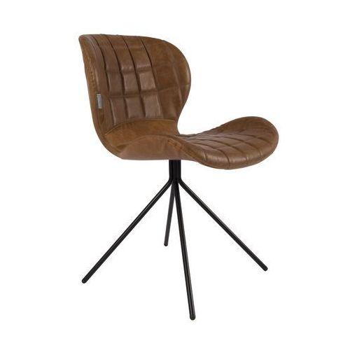 Zuiver Krzesło OMG LL brązowe 1100253 (8718548024090)