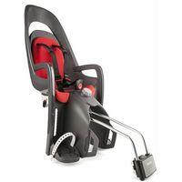 Hamax fotelik rowerowy caress grey/dark grey/red