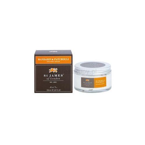 St. James Of London Mandarin & Patchouli krem do golenia dla mężczyzn 150 ml + do każdego zamówienia upominek.