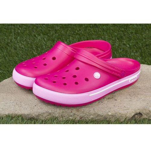 Klapki crocband™ clog candy pink 12836-6lr - różowy, Crocs