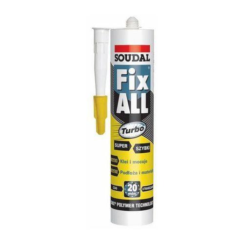 Soudal Klej Uszczelniacz Fix All TURBO 290 ml - biały