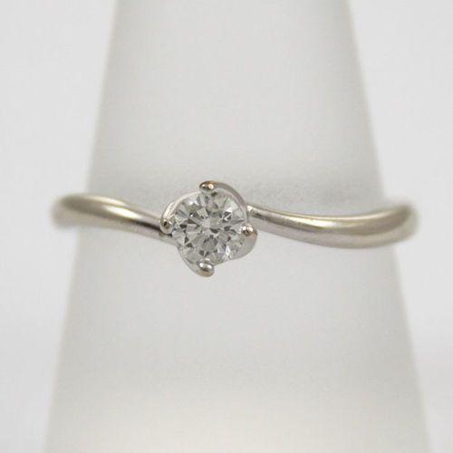 Złoty pierścionek P1598