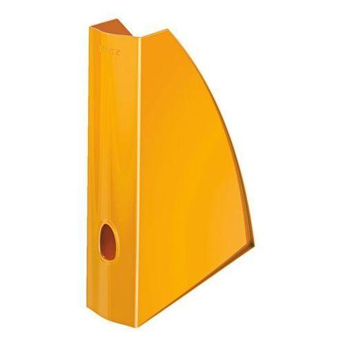 Pojemnik na dokumenty wow a4/6cm 5277-44 pomarańczowy marki Leitz
