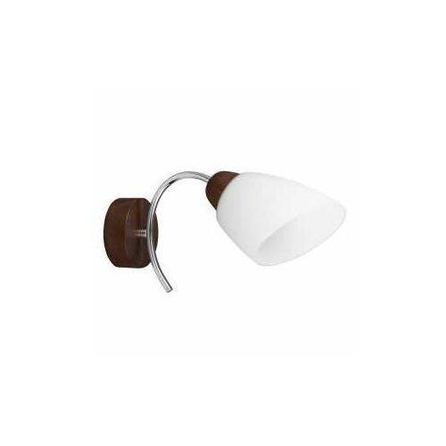 Spot Light Wiletta Wood 8141176 kinkiet lampa ścienna 1x60W E27 brązowy/biały (5901602361948)