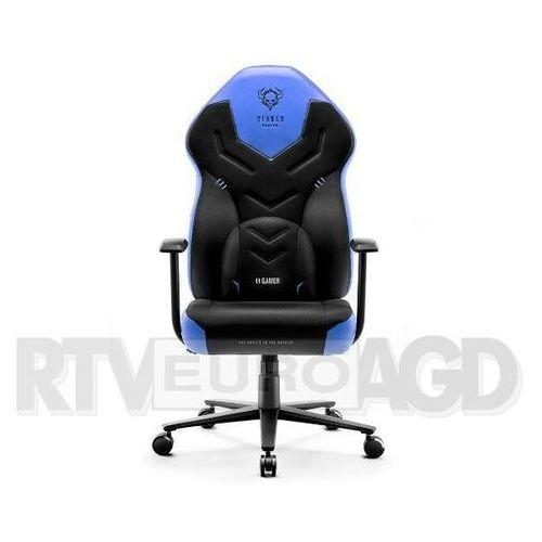 Diablo chairs Fotel x-gamer 2.0 (l) czarno-niebieski (5902560337488)