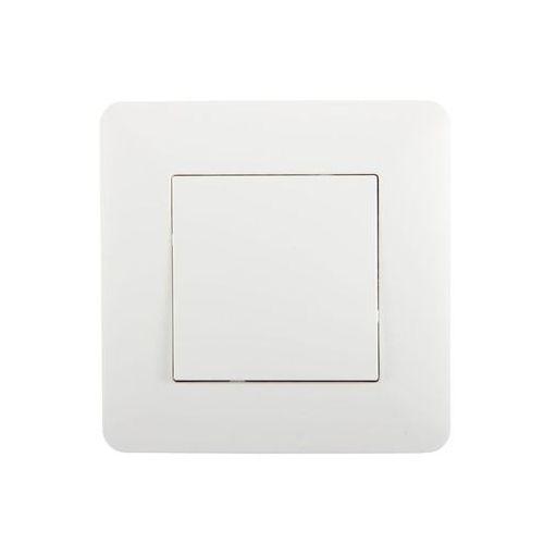 Hbf Włącznik krzyżowy artezo biały (5906660074267)