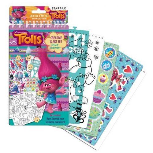 Zestaw kreatywny Trolls 358688 - Starpak