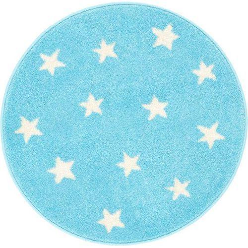Dywan funky top starf błękit (koło) 100x100 marki Agnella