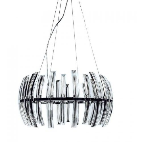 Orlicki design Corto ovale wisząca 78cm chrom
