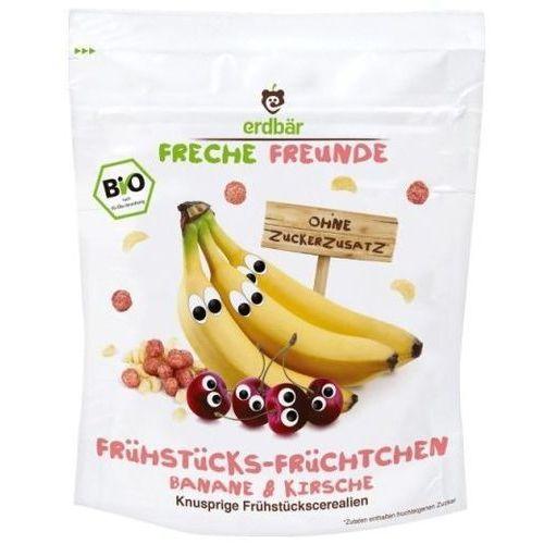 Płatki Śniadaniowe Banan-Wiśnia 125g EKO Erdbar Dla Dzieci, 4260249144231