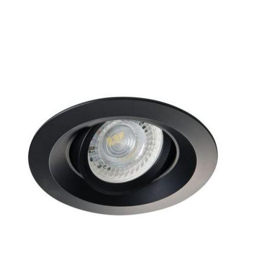 Kanlux Oczko halogenowe colie dto-b 26743 lampa sufitowa wpuszczana downlight 1x35w gu10/gx5,3 mr16 czarne (5905339267436)