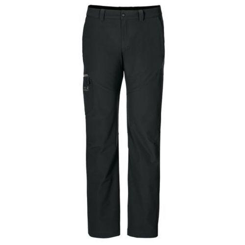 Jack Wolfskin CHILLY Spodnie materiałowe black, 1502381