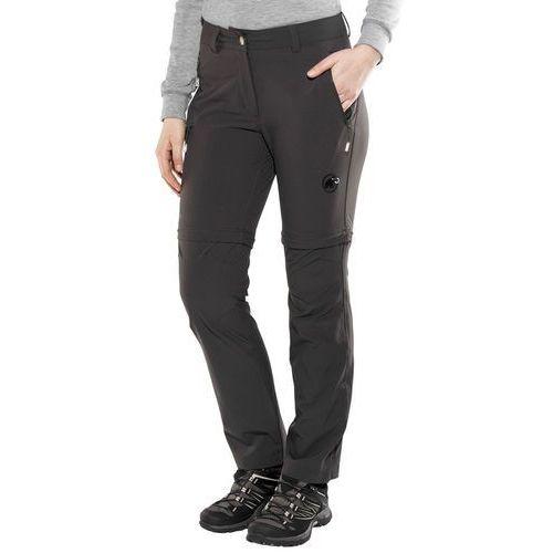 Mammut Runje Spodnie długie Kobiety Short szary DE 42 (krótkie) 2018 Spodnie z odpinanymi nogawkami (7630039888367)