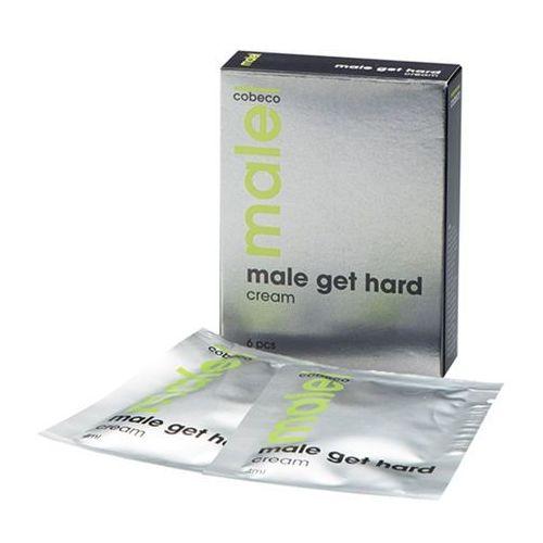 Male! Krem erekcyjny w saszetkach - male get hard sachets 6 x 4 ml