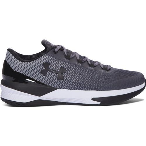 Under armour Buty charged controller - 1286379-076 - czarno-szaro-białe