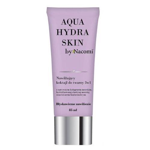 Maseczka 3 w 1 nawilżająca Aqua hydra skin 85ml Nacomi