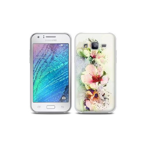Samsung Galaxy J5 - etui na telefon Full Body Slim Fantastic - róże herbaciane