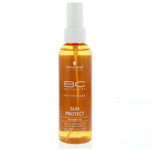Schwarzkopf Professional BC Bonacure Sun Protect mieniący się olejek do włosów narażonych na szkodliwe działanie promieni słonecznych (Shimmer Oil wit