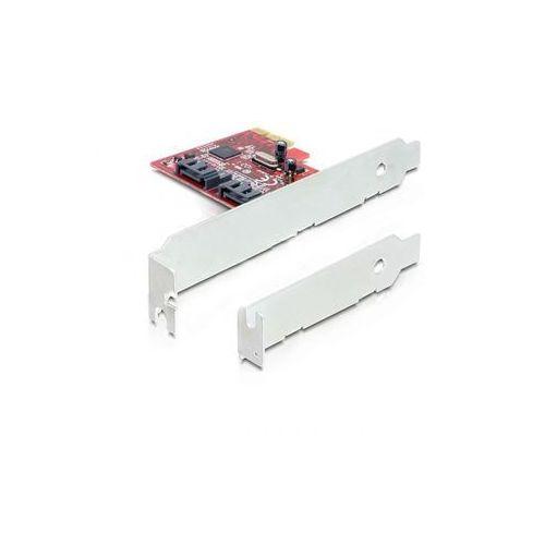 Delock Karta PCI Express->2xSATA Internal DARMOWA DOSTAWA DO 400 SALONÓW !!, 89270