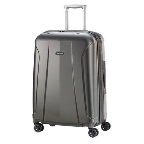 Travelite elbe walizka średnia 70/82l anthrazit 4-koła