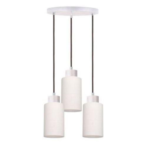 Spot-light  bosco lampa wisząca dąb bielony/antracyt 3xe27-60w 1711532
