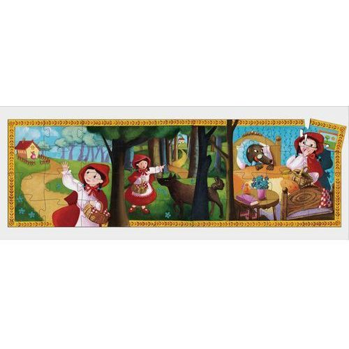 Djeco, Czerwony kapturek, DJ07230, puzzle w pudełku