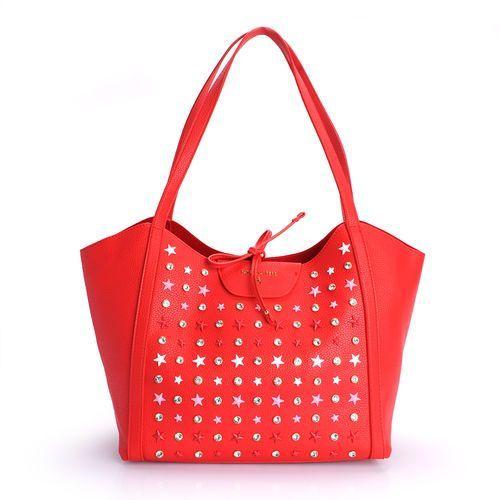 cb61d83bd9ea3 borsa torba na zakupy stars red marki Pa.